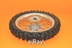 1996 95-97 CR125R CR125 OEM Rear Wheel Complete Hub Rim Spokes Tire 19x1.85