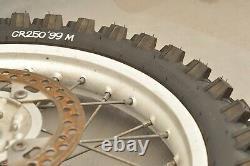 1997 1999 Honda CR250 CR250R CR 250 Complete Rear Wheel Tire Rim Hub NICE