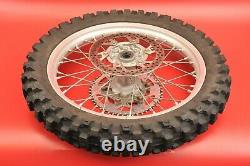 1999 2007 Yamaha YZ125 YZ 125 Complete Rear Wheel Tire Rim Hub NICE