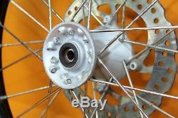 1999 96-07 CR80R CR85R Pro Wheel Complete Front Hub Rim Spokes Tire 17x1.40