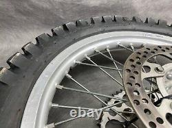 2000 2007 Yamaha YZ125 YZ 125 Complete Rear Wheel Tire Rim Hub