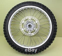 2002 02-19 YZ250 YZ125 Excel Front Rear Wheel Set Complete Hub Rim Spokes Rotor