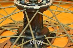 2003 03 KX250 KX 250 Front Rear Wheels Complete Wheel Set Hub Rim Tire Assembly