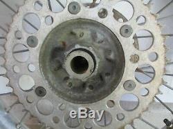 2003 HONDA CR125 19 REAR WHEEL With TIRE, REAR RIM HUB, BACK WHEEL COMPLETE, MX43