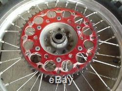 2003 Honda CR125 Complete Front & Rear EXCEL Wheels Wheel Rims Rim Hub 97-07