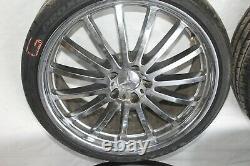 2003 Mercedes Sl500 R230 Roadster #182 20 Wheels Rims Tires Complete Set