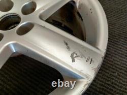 2004-11 Audi A4 A6 Complete Set 17 Alloy Wheels Silver 5 Spoke 7.5Jx17 ET45