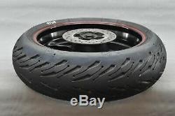 2004 2014 YAMAHA YZF-R1 R1 1000 Complete Rear Wheel Tire Rim Hub VERY NICE TIRE