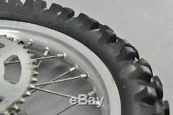2005 Yamaha Yz125 Yz 125 Yz250f Yz250 Complete Front Rear Wheel Tire Rim Hub
