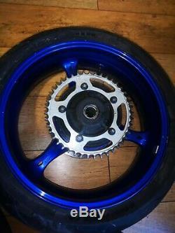 2006-2007 Suzuki GSXR 600 750 K6 K7 Complete Set Wheels Rims Brake Discs HG06