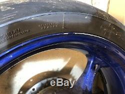 2006-2007 Suzuki GSXR 600 K6 K7 Complete Set Of Wheels Rims Brake Discs GSXR 750