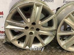 2006-2008 Renault Megane 17 Inch Alloy Wheel 4 Stud Rims Only Complete Set
