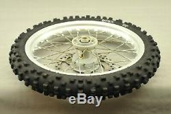 2007 KTM 65sx 65 SX Front Rear Wheel Tire Rim Hub Set Brake Rotor Complete 12 14
