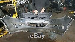 2007 Vauxhall Opel Corsa 3 Door D Silver Z157 Front Bumper + Grill Complete