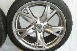 2009 Nissan 370z Z34 Coupe #181 Touring 19 Wheels Rims Tires Complete Set