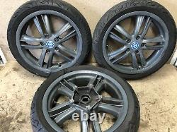 2011-2019 Piaggio MP3 300 Yourban Complete Set Of Wheels Front Rear Rims
