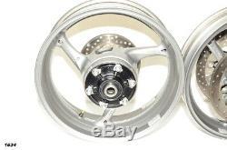 2011 Suzuki GSXR 750 GSXR 600 750 OEM Complete Front & Rear Wheels Rims Rotors