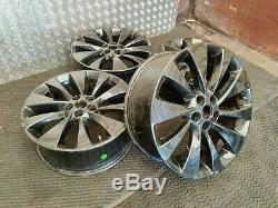 2013-2020 Vauxhall Mokka Mk1 18 Black Alloy Wheels Complete Set 18x7J IS38