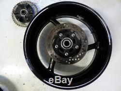 2014 14 gsxr 1000 set of wheels rims complete rotors oem straight 11 12 13 09 15