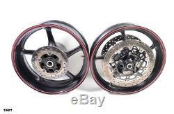 2014 Yamaha YZF R6 YZF-R6 OEM Complete Front & Rear Wheels Rims Rotors & Hub