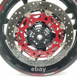 2015 15 16 17 18 19 Yamaha Yzf R1 Yzfr1 Complete Oem Front Wheel Rim Mint