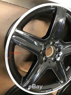 2015 2016 2017 mercedes GLA 45 AMG OEM wheels rims COMPLETE SET