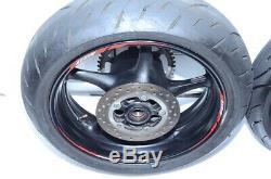 2015 Yamaha YZF R6 YZF-R6 OEM Complete Front & Rear Wheels Rims Rotors & Hub