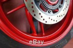 2016-2018 Ducati 959 Panigale COMPLETE REAR RIM WHEEL PIRELLI TIRE B121P56