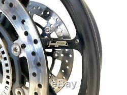 2016 BMW S1000RR Premium OEM HP Forged Complete Front Wheel Rim Rotors 2015-2018