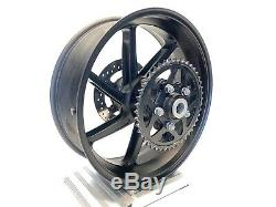 2016 BMW S1000RR Premium OEM HP Forged Complete Rear Wheel Rim Rotor 2015-2018