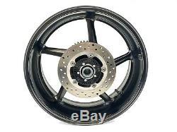 2016 Yamaha R1S OEM Complete Rear Wheel Rim Brake Rotor Sprocket Spacers YZF R1