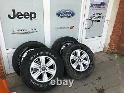 2018-2019 Ford F-150 Oem Rims/wheels With Tyres R17 (complete/separately)
