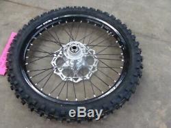 2020 Ktm Sxf 450 New Oem Excel Black Front Wheel Rim Complete Brake Rotor 19