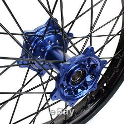 21 & 19 Complete Wheels Rims Hubs For Yamaha YZ250F YZ450F YZF 250 450 09-13