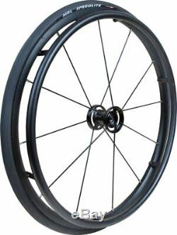 24 Mobilex Storm Wheels Pair (complete With Tyres + Tubes + Push Rims)