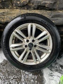 4 X Genuine Jaguar Xf Alloy Wheels 17 Complete Set With Tyres 17x7.5