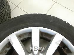 4x complete wheels Aluminum rim 205/65R16C 5X112 4.5-5.2mm W639 Vito Viano 03-10