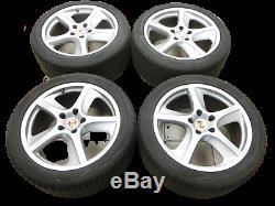 4x complete wheels Aluminum rim 275/40R20 5X130 6.6-6.8mm Cayenne 9PA 955