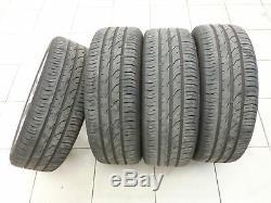 4x complete wheels Aluminum rim summer tires 185/50R16 4X100 4.3-5.0mm UP 11-16