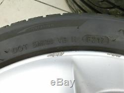 4x complete wheels Aluminum rim summer tires 215/45R17 5X100 Prius W3 III 09-12