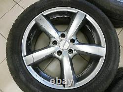 4x complete wheels Aluminum rim summer tires 235/55R18 5X114.3 RAV4 III CA30W 06