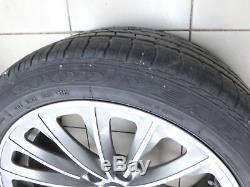 4x complete wheels Aluminum rim summer tires 245275/4540R19 5X120 F01 F02 750i 0