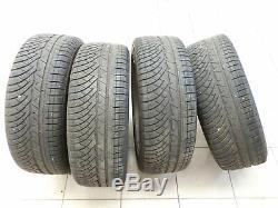 4x complete wheels Aluminum rim winter tires 235/45R18 5X108 4.8-5.9mm 508 I 10