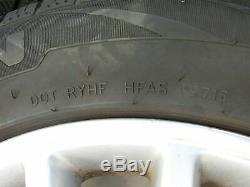 4x complete wheels Aluminum rim winter tires 235/55R17 5X112 4.1-7.8mm Phaeton 3