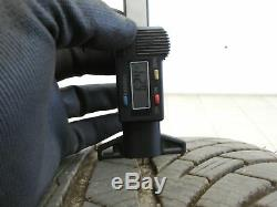 4x complete wheels Aluminum rim winter tires 245/40R18 5X120 5.8-6.2mm 5er E61 5