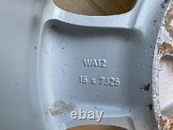 7F100 ALLOY WHEELS FOR NISSAN TERRANO/TERRANO. Ii (R20)WA12 157J25 COMPLETE SET