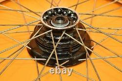 85-02 1987 XR200 XR 200 Front Rear Wheel Wheels Complete Set Hub Rim Tire