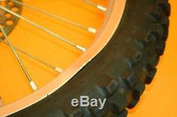 89-95 1995 RM250 RM 250 Front Rear Wheel Complete Set Rim Hub Tire Spokes