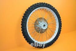 89-98 1993 RMX250 RMX OEM Complete Front Wheel Rim Tire Hub Spokes Rotor 21x1.6