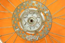 90-97 1990 KX80 KX 80 Front Rear Wheels Tires Complete Set Rim Hub Assembly